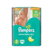 Pampers Active Baby-Dry 5-9 кг (90) фото